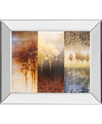 """Lost in Trees I by Michael Marcon Mirror Framed Print Wall Art, 22"""" x 26"""""""