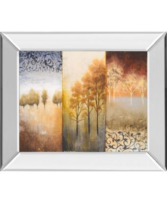 "Lost in Trees II by Michael Marcon Mirror Framed Print Wall Art, 22"" x 26"""