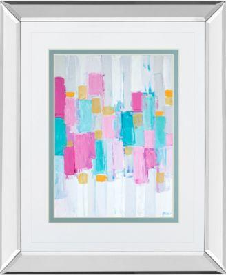 "Cool Rhizome II by Ann Marie Coolick Mirror Framed Print Wall Art, 34"" x 40"""