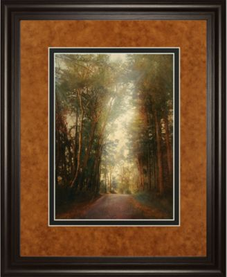 """Road of Mysteries II by Amy Melious Framed Print Wall Art, 34"""" x 40"""""""