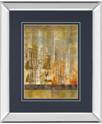 "Arculat II by Kemp Mirror Framed Print Wall Art, 34"" x 40"""