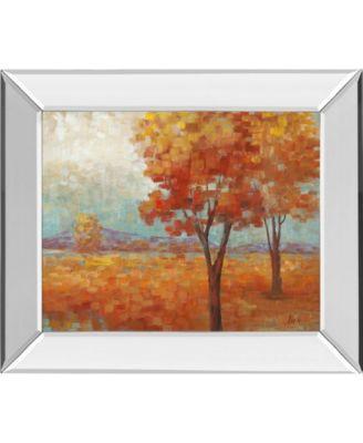 "Distant Mountain II by Nan Mirror Framed Print Wall Art, 22"" x 26"""