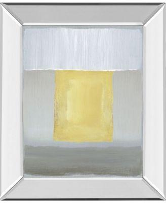 "Halflight II by Caroline Gold Mirror Framed Print Wall Art, 22"" x 26"""