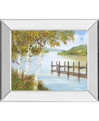 "Rural Route II by A. Fisk Mirror Framed Print Wall Art, 22"" x 26"""
