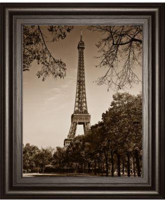 "An Afternoon Stroll-Pari by Maihara J. Framed Print Wall Art, 22"" x 26"""