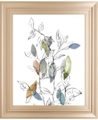 """Spring Leaves I by Meyers, R. Framed Print Wall Art, 22"""" x 26"""""""