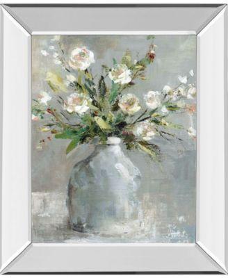 "Country Bouquet I by Carol Robinson Mirror Framed Print Wall Art, 22"" x 26"""