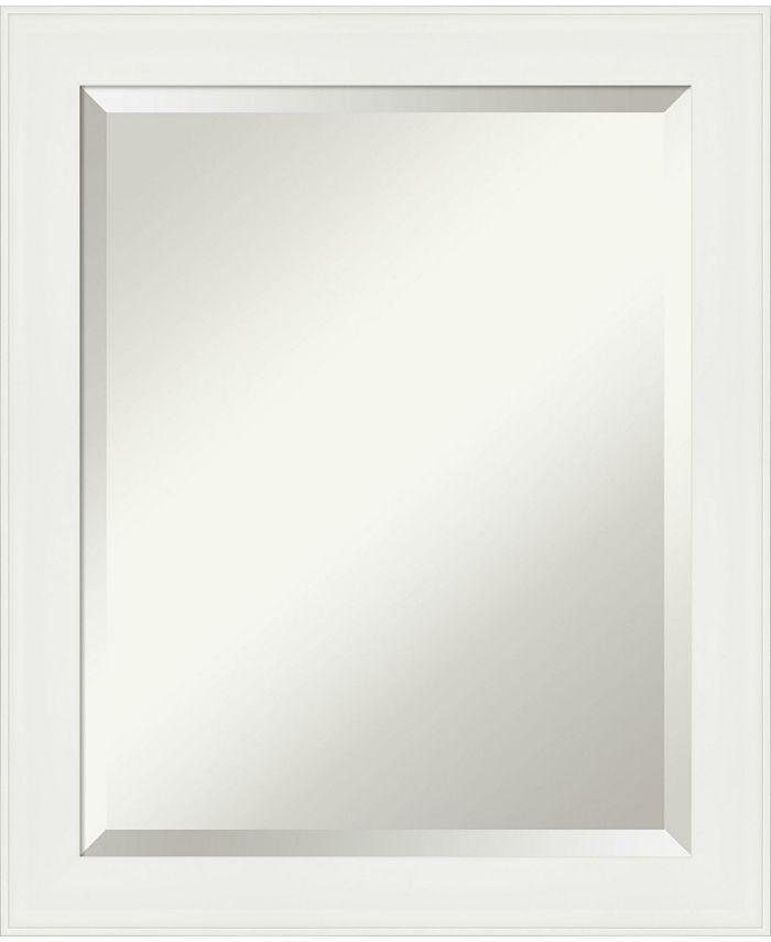 Amanti Art Vanity Framed Bathroom Vanity Wall Mirror 19 38 X 23 38 Reviews All Mirrors Home Decor Macy S