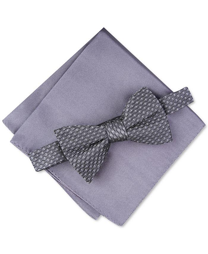 Alfani - Men's Roy Geo Pre-Tied Bow Tie