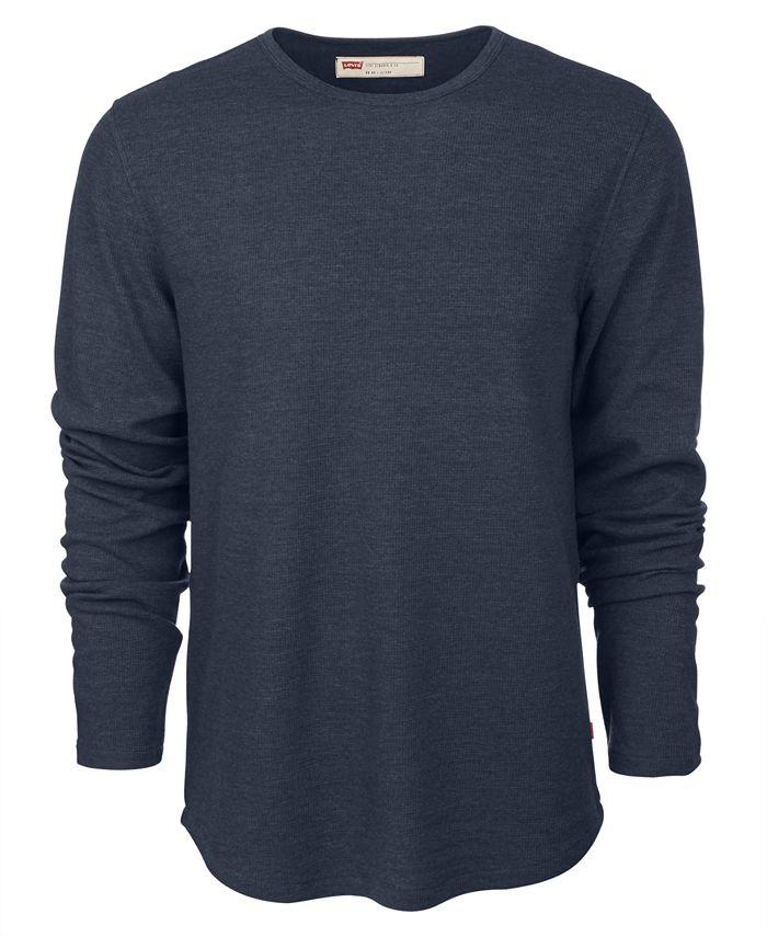 Levi's Men's Long Sleeve Yari Thermal & Reviews - T-Shirts - Men ...