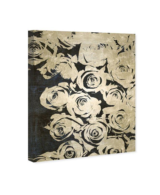 """Oliver Gal Dark Rose Canvas Art, 17"""" x 20"""""""