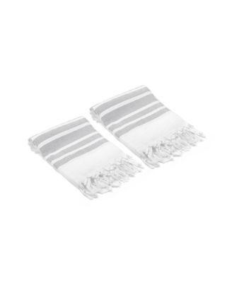 Herringbone Turkish Hand/Kitchen Towel Set of 2