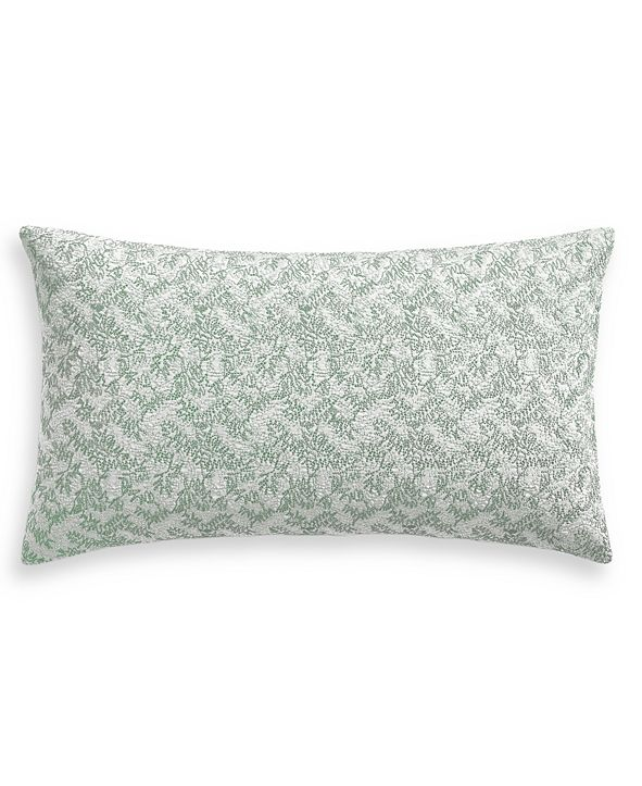 """Hotel Collection Meadow 14"""" x 24"""" Decorative Pillow, Created for Macy's"""