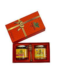 Hibiscus & Sorrel and Creamed Floral & Ginger Honey Gift Set