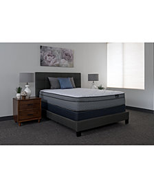 "King Koil Luxury Cadence 14.5"" Plush Euro Top Mattress Set- Queen"