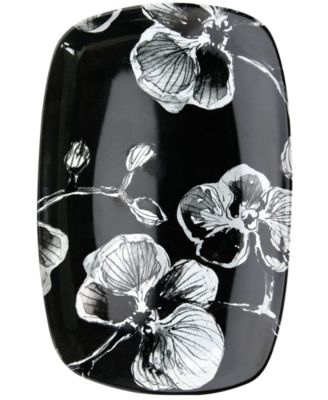 MADHOUSE by Michael Aram Serveware, Black Orchid Melamine Tidbit Tray