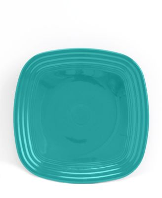 Fiesta Turquoise Square Luncheon Plate