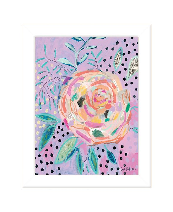 """Trendy Decor 4U Master the Chaos by Kait Roberts, Ready to hang Framed Print, White Frame, 15"""" x 19"""""""