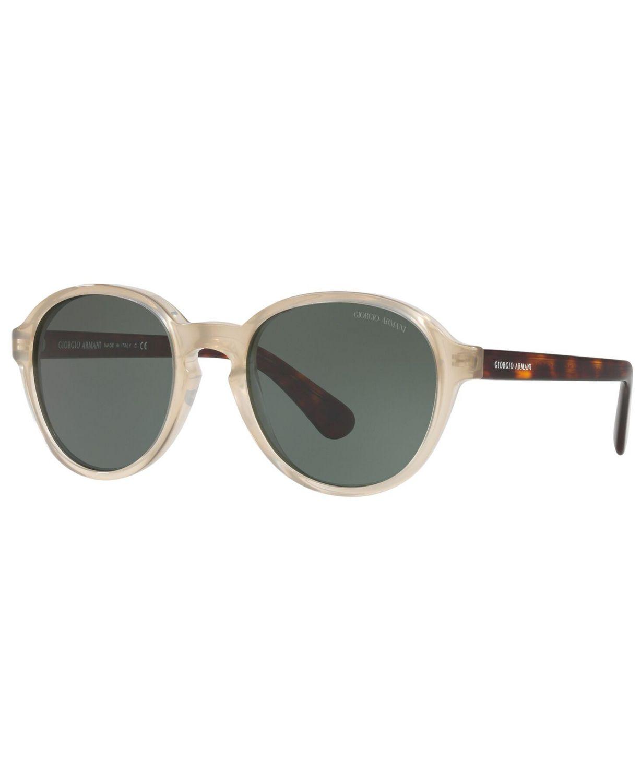Giorgio Armani Men's Sunglasses, AR8113 & Reviews - Sunglasses by Sunglass Hut - Men - Macy's
