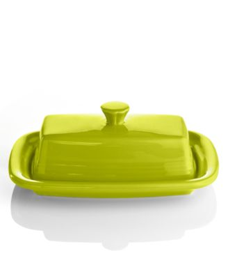 Fiesta Lemongrass XL Covered Butter Dish