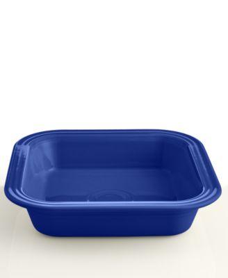 "Fiesta Cobalt 9"" Square Baker"