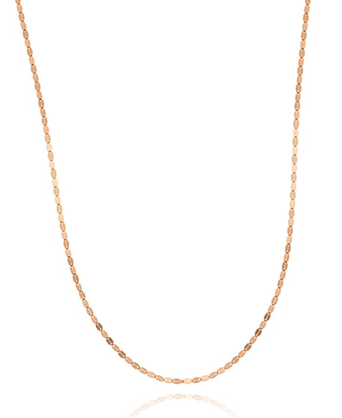 """Macy's - 14K White or Rose Gold Smashed 20"""" Chain"""