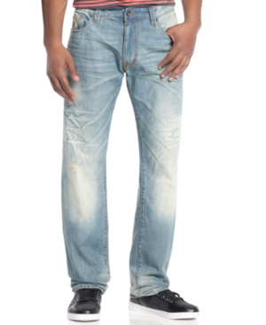 Rocawear Jeans Compact Sea Wash Straight Leg Jeans