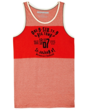 Sean John Tank Athletic Colorblock Tank