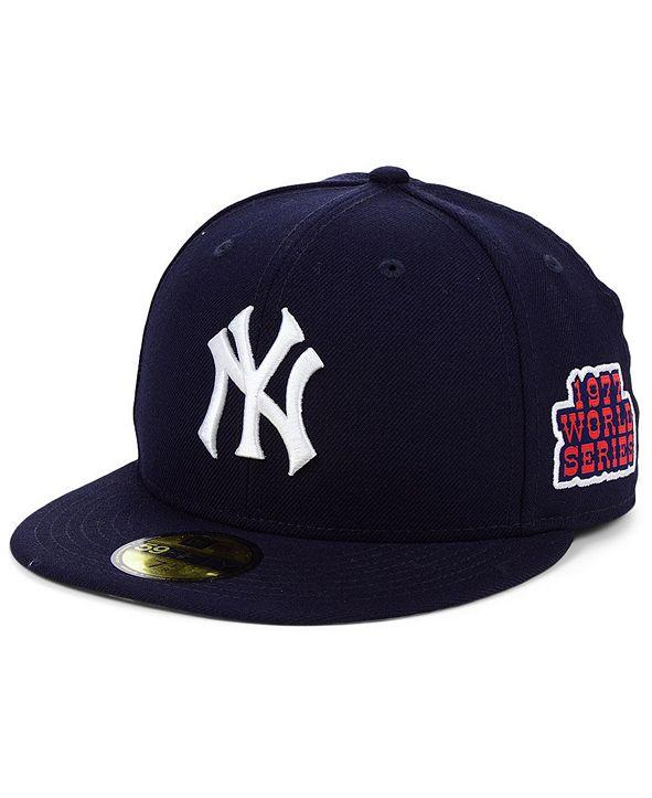 New Era New York Yankees World Series Patch 59FIFTY Cap