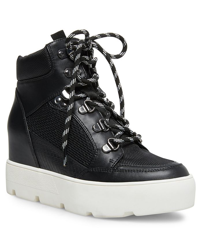 Madden Girl - Negan Lace-Up Hiker Wedge Sneakers