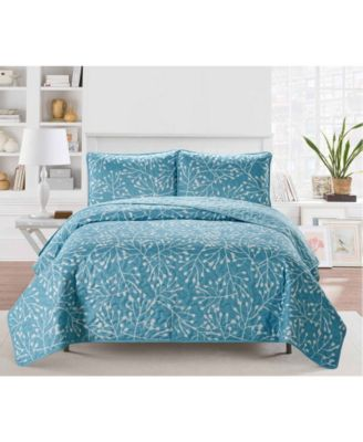 Casual Living Branches 3 Piece Quilt Set, King