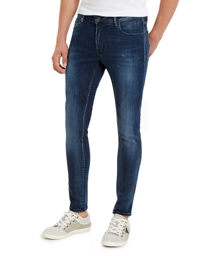 GUESS - Men's Skinny-Fit Stretch Jeans