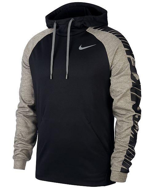 Nike Men's Therma Logo Training Hoodie & Reviews - Macy's