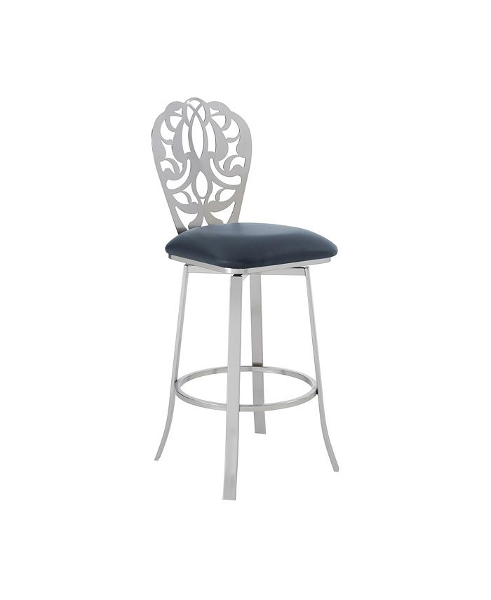 Armen Living - Cherie Bar Stool, Quick Ship
