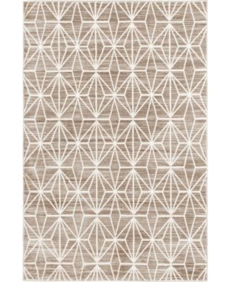 Fifth Avenue Uptown Jzu002 Brown 8' x 10' Area Rug