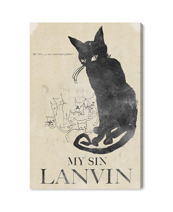 """Oliver Gal My Sin Canvas Art, 30"""" x 45"""""""