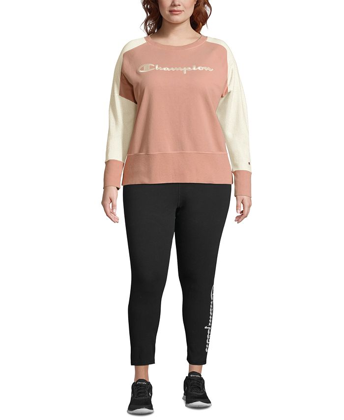 Champion - Plus Size Heritage Herringbone Sweatshirt