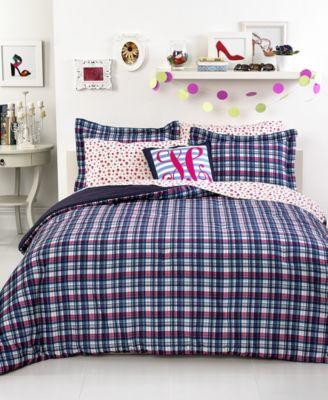 Tommy Hilfiger Bedding, Hadley Plaid Twin/Twin XL Comforter Set