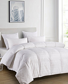 500 Thread Count Windowpane Duraloft® Down Alternative Full/Queen Comforter