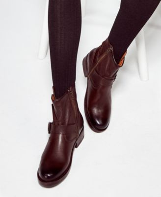 Frye Women's Vicky Leather Booties
