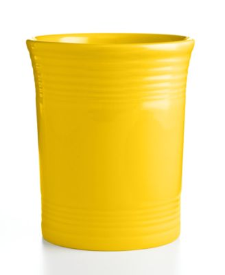 Fiesta Sunflower Utensil Crock
