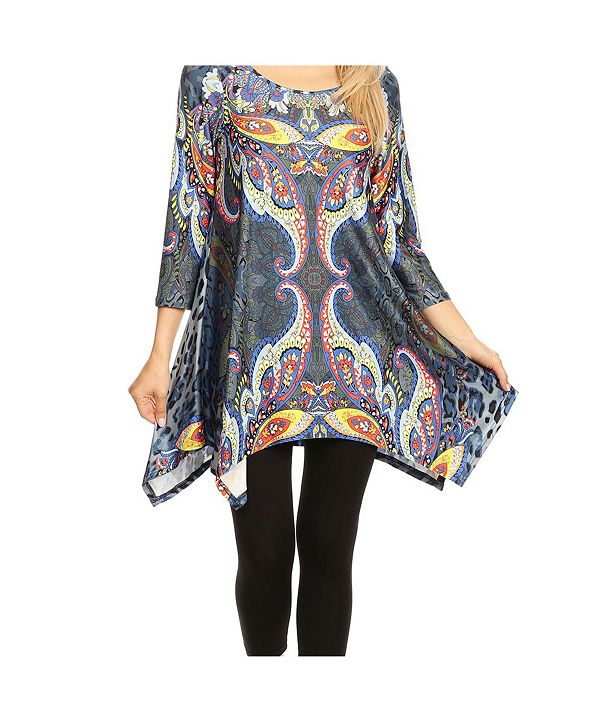 White Mark Marlene Tunic