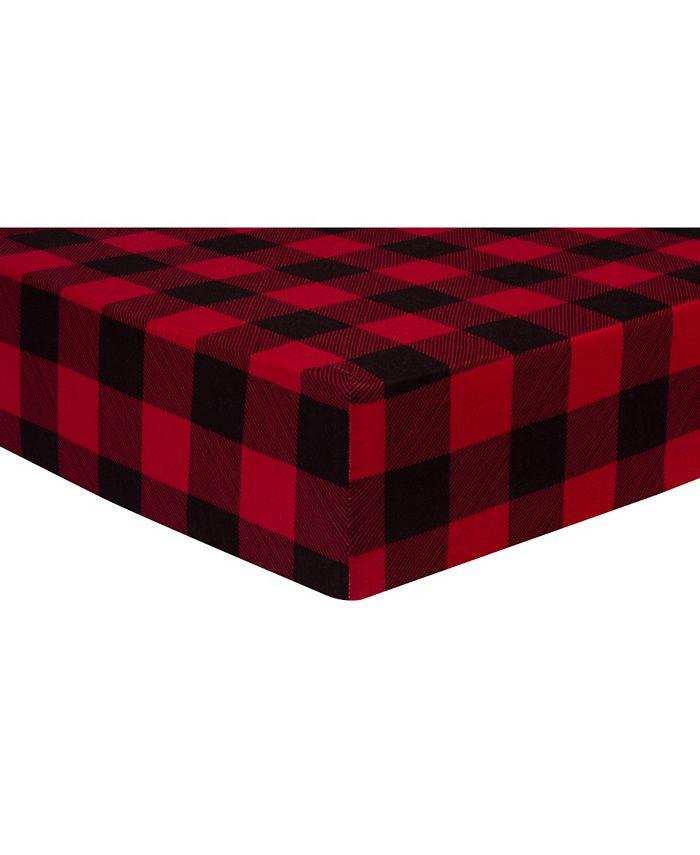 Trend Lab - Buffalo Check Jersey Crib Sheet