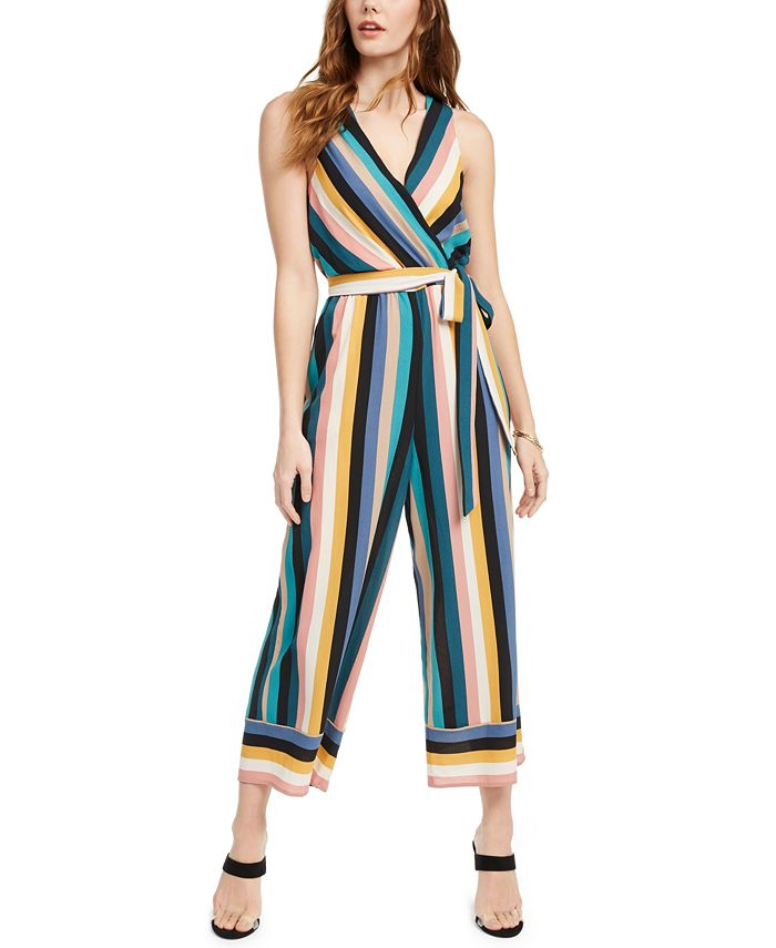 Speechless - Juniors' Striped Jumpsuit