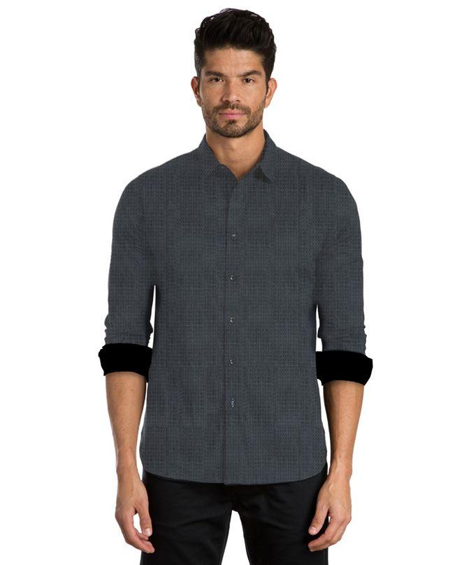 Jared Lang Print Long Sleeve Sport Shirt