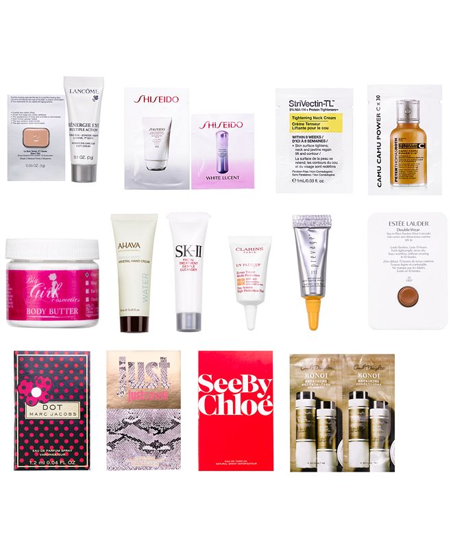 Macy's Choose 3 FREE Samples with $75 online beauty purchase
