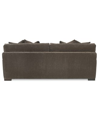 Teddy Fabric Sofa Furniture Macy S