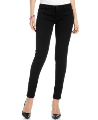 Celebrity Pink Juniors Skinny Jeans, Black Wash - Jeans - Juniors ...