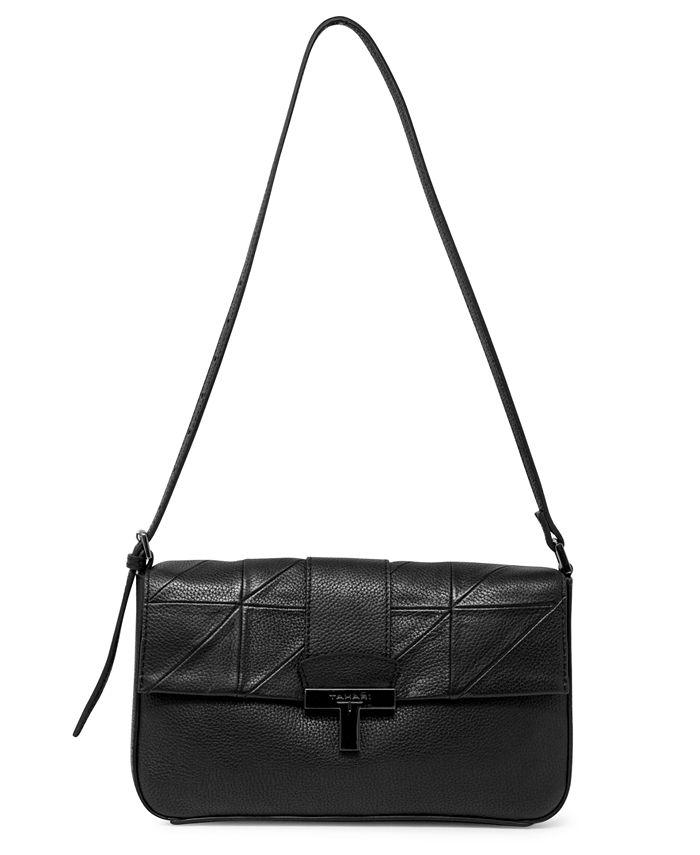 T Tahari - Frida Leather Flap Shoulder Bag