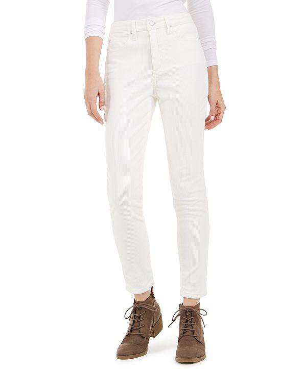 OAT High-Rise Blush Skinny Corduroy Pants